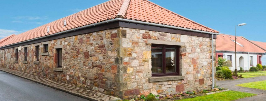 Gullane Holiday Cottage Front View