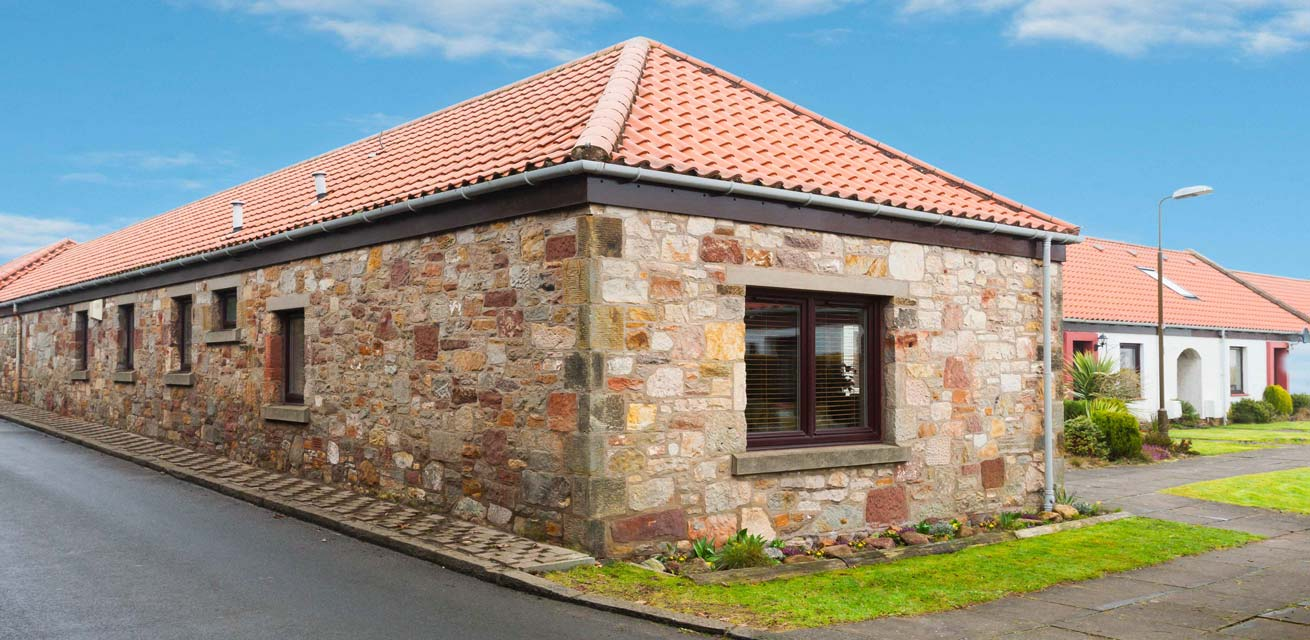 Gullane-Holiday-Cottage-Front-View