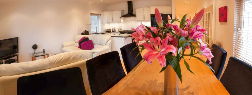 Gullane Holiday Home Dining Room